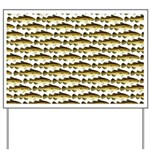 Cod Pattern 2 Yard Sign