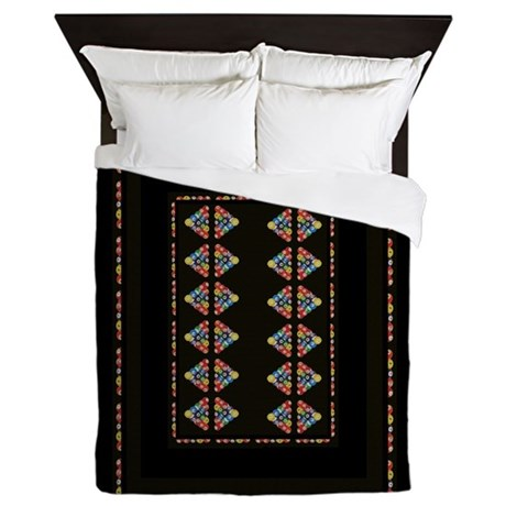 Billiard Man Cave Queen Duvet