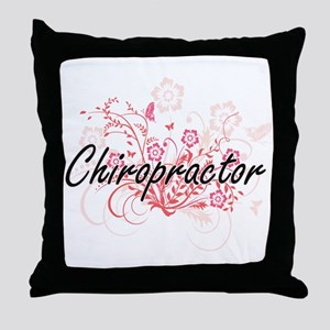 Chiropractor Artistic Job Design with Throw Pillow