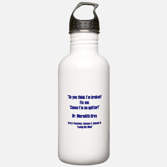 SO YOU THINK... Water Bottle