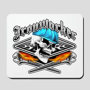 Ironworker 1 Mousepad