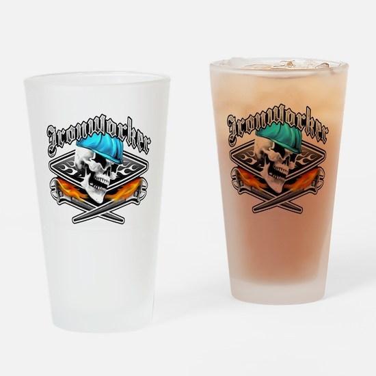 Ironworker 1 Drinking Glass