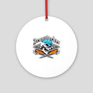 Ironworker 1 Round Ornament