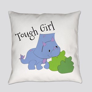 Tough Girl Everyday Pillow