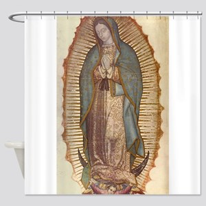 Our Lady Of Guadalupe Shower Curtain