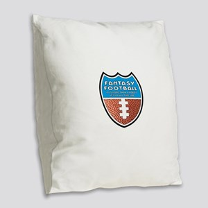 FFB Logo Burlap Throw Pillow