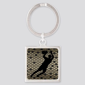 Soccer Goal Keeper Classic Goalie Art Keychains
