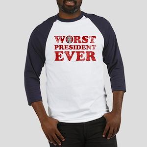 Worst President Ever Baseball Jersey