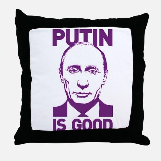 Cool Vladimir putin Throw Pillow