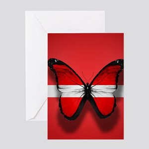 Artistic Butterfly Greeting Cards