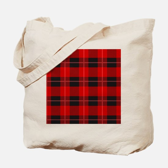Unique Plaids Tote Bag