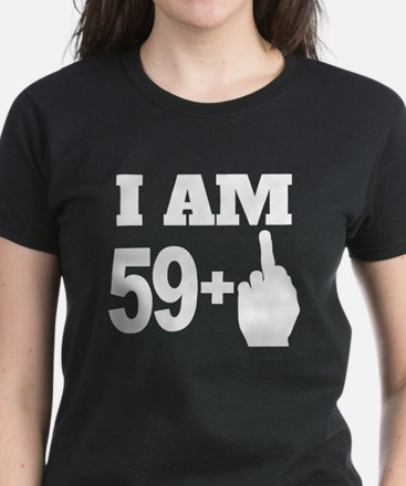 60 Years Old Middle Finger T-Shirt
