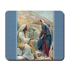 Woman at the Well - Copping - Mousepad