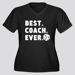 Best Coach Ever Volleyball Plus Size T-Shirt