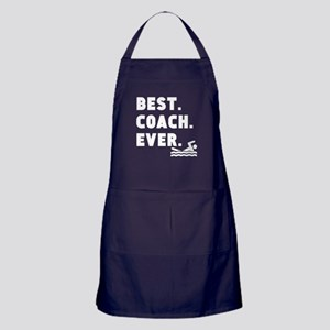 Best Coach Ever Swimming Apron (dark)