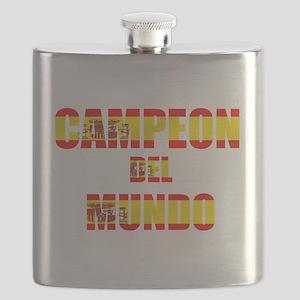 Campeon Del Mundo Flask