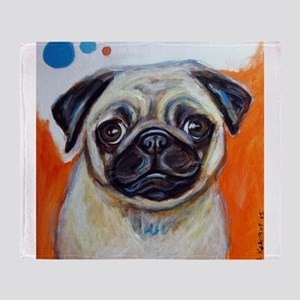 pug, pug painting, cute pug, pug pop art, pug desi