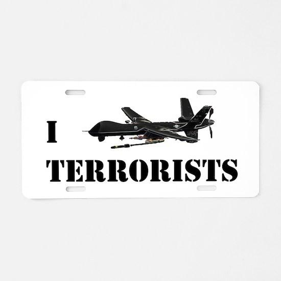 Funny Terrorism Aluminum License Plate