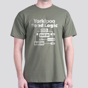 Yorkiepoo Food Dark T-Shirt