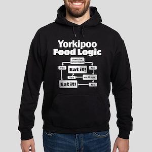 Yorkiepoo Food Hoodie (dark)