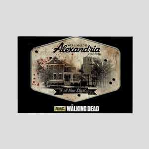 Twd Alexandria Rectangle Magnet Magnets