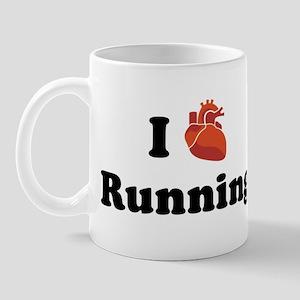 I (Heart) Running Mug