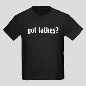 Got Latkes? Kids Dark T-Shirt