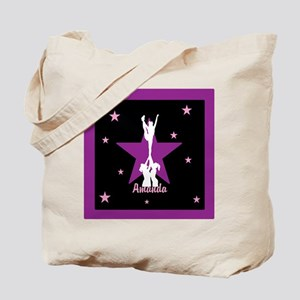 Cheerleader pink Tote Bag