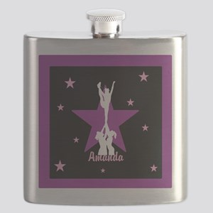 Cheerleader pink Flask