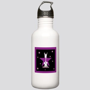 Cheerleader pink Water Bottle