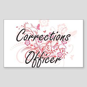 Corrections Officer Artistic Job Design wi Sticker