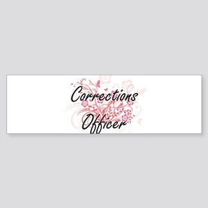 Corrections Officer Artistic Job De Bumper Sticker