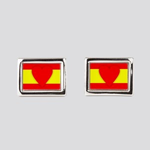 Spain Design Rectangular Cufflinks