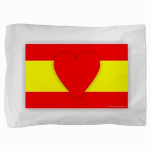 Spain Design Pillow Sham