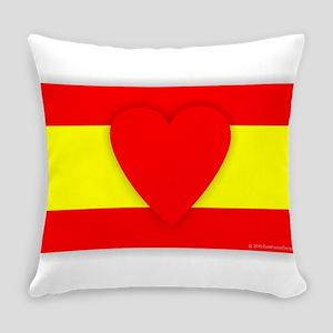 Spain Design Everyday Pillow