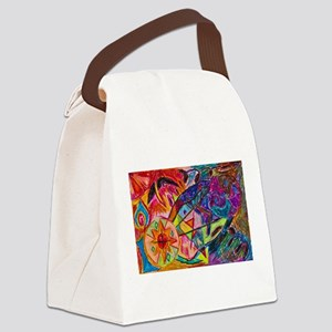 Joining of Worlds Canvas Lunch Bag