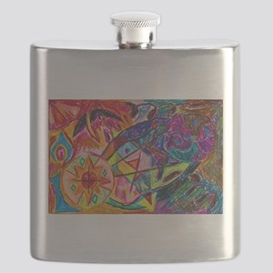 Joining of Worlds Flask