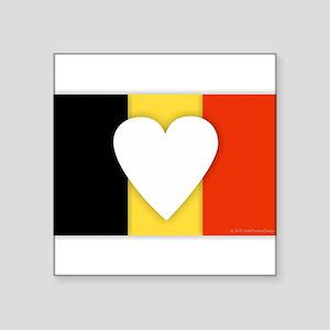 Belgium Design Sticker