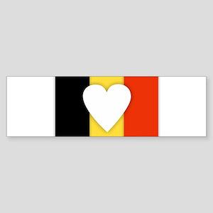 Belgium Design Bumper Sticker
