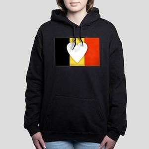 Belgium Design Women's Hooded Sweatshirt