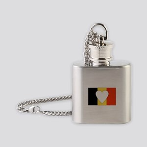 Belgium Design Flask Necklace