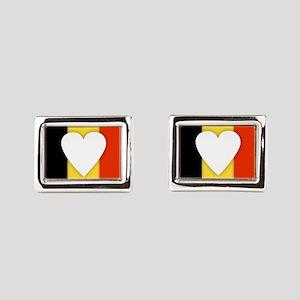 Belgium Design Rectangular Cufflinks