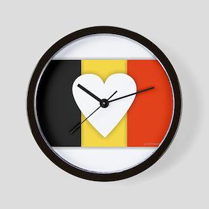 Belgium Design Wall Clock