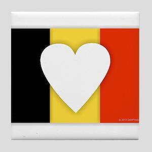 Belgium Design Tile Coaster