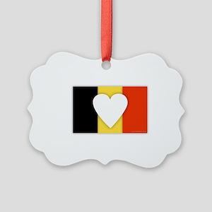 Belgium Design Picture Ornament