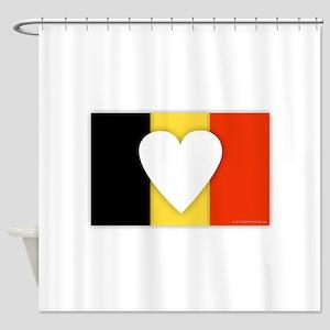 Belgium Design Shower Curtain