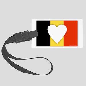 Belgium Design Large Luggage Tag