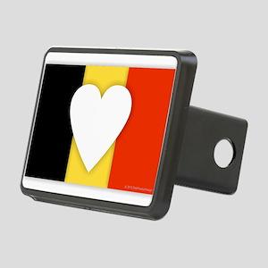 Belgium Design Rectangular Hitch Cover