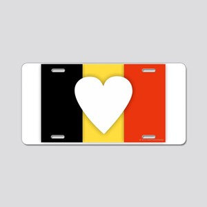 Belgium Design Aluminum License Plate