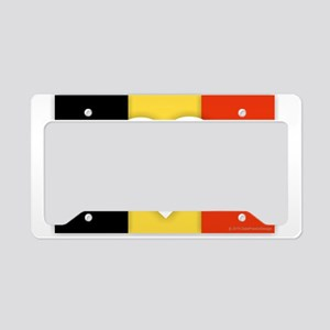 Belgium Design License Plate Holder